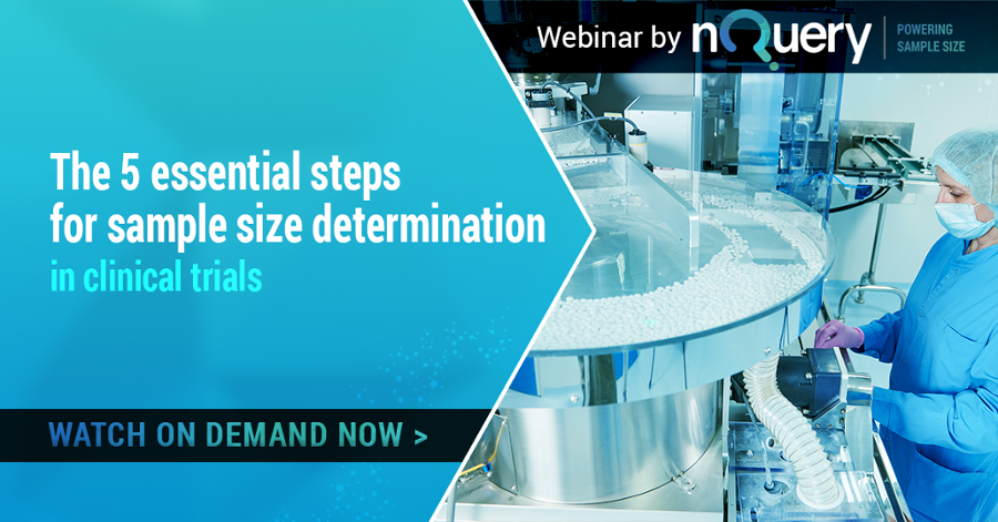 5 essential steps for sample size determination webinar