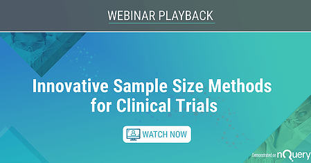 7 Innovative Sample Size Methods for Clinical Trials Web On Demand Image