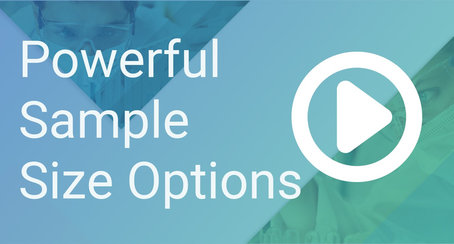 B3 Powerful Sample Size Options
