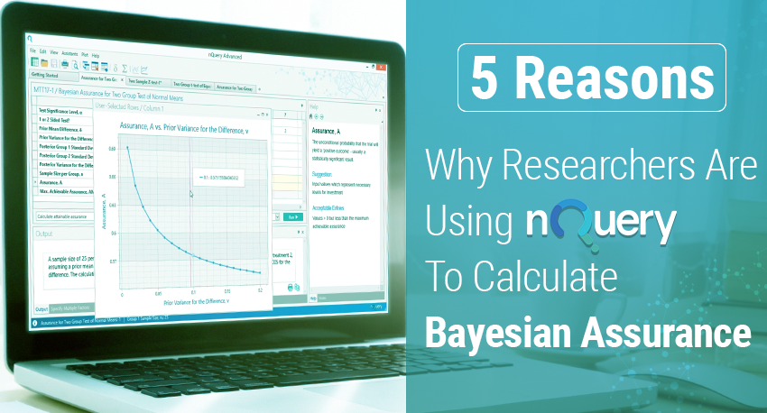 5 Reasons Why Researchers Use nQuery for Bayesian Assurance