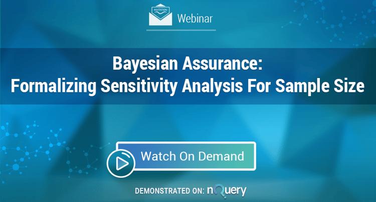 bayesian assurance - bayesian model - Webinar On Demand - Bayesian Assurance - Formalising Sensitivity Analysis.png