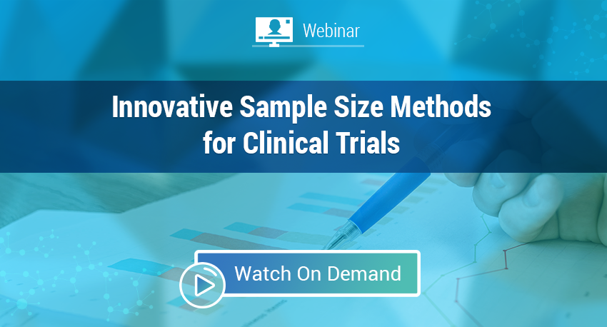 What's New in nQuery - Powering Sample Size - Innovative Sample Size Methods for Clinical Trials Web On Demand Image.png