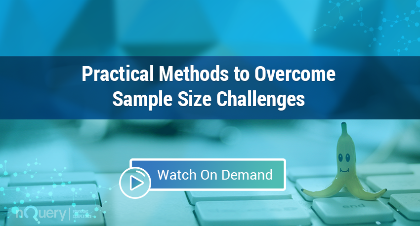 Practical Methods to Overcome Sample Size Challenges Webinar On Demand.png