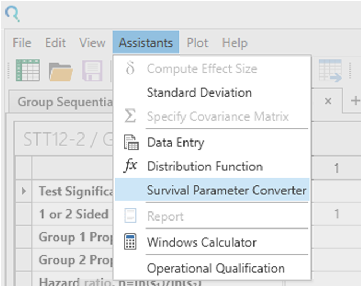 Sample Size Calculator Example- nQuery- Example 22- Img 02- Group Sequential Test of Two Survivals