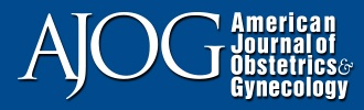 The American Journal of Obstretics and Gynecology Logo