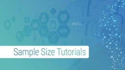Sample Size Tutorials