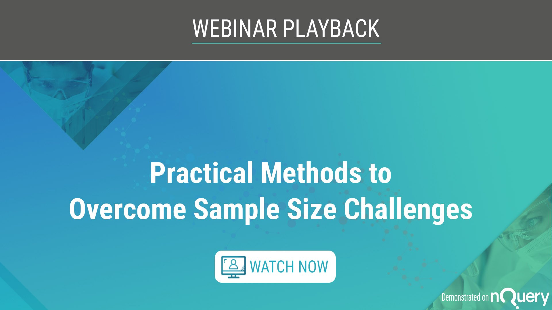 Practical Methods to Overcome Sample Size Challenges-on-demand-1920-1080