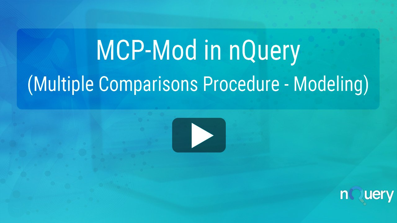 MCP-Mod in nQuery